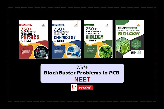 [PDF] Disha 750+ Blockbuster Problems in Physics, Chemistry, and Biology for NEET | Download