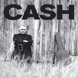 "Johnny Cash's ""Unchained"" LP cover"