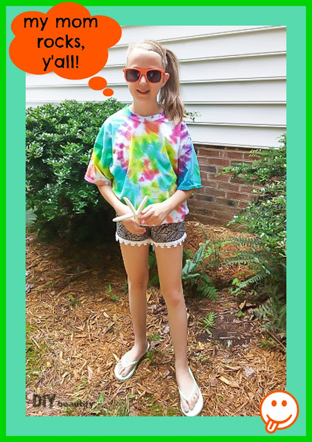 Try this easy technique for creating fabulous Swirl Tie Dye tees that will ROCK your summer! Step by step instructions can be found at DIY beautify.