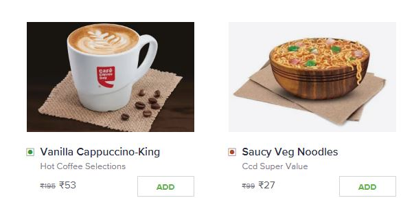 [Live] Swiggy CCD Loot- Flat 73% Off On Everything | All Users
