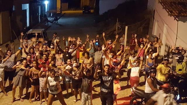 POTIRAGUÁ: CAMPANHA DE MAURÍCIO PORTUGAL CRESCE A CADA VISITA À POPULAÇÃO.