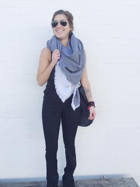 lululemon tonight-leotard &go-flare-pant scarf