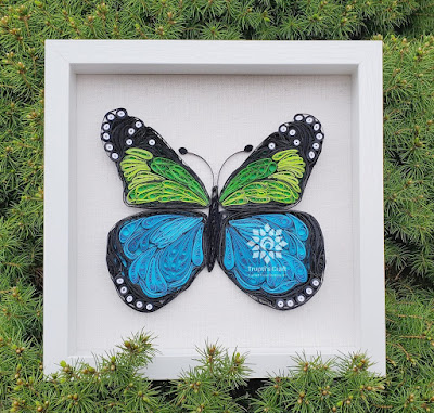 Paper Quilling Butterfly
