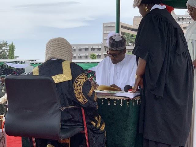 Buhari Fails To Deliver Inauguration Speech