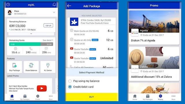 Cara Cek Kuota XL via Aplikasi