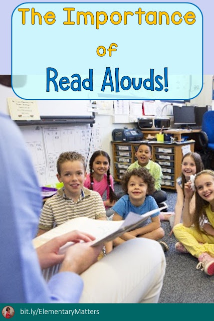 The Importance of Read Alouds: Reading aloud has many benefits. Here are 15!