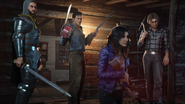 gameplay show for the cooperative Evil Dead: The Game