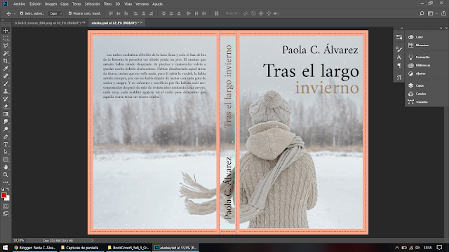cómo hacer la portada de un libro