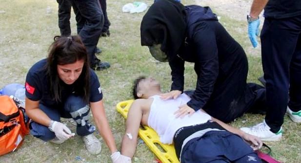 محاولة قتل شاب سعودي فى تركيا اليوم