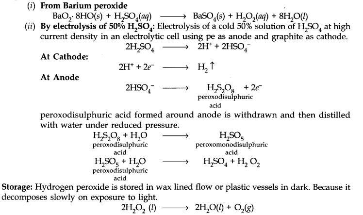 Hydrogen Peroxide (H202)