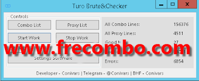 [API] Turo Brute/Checker by Conivars