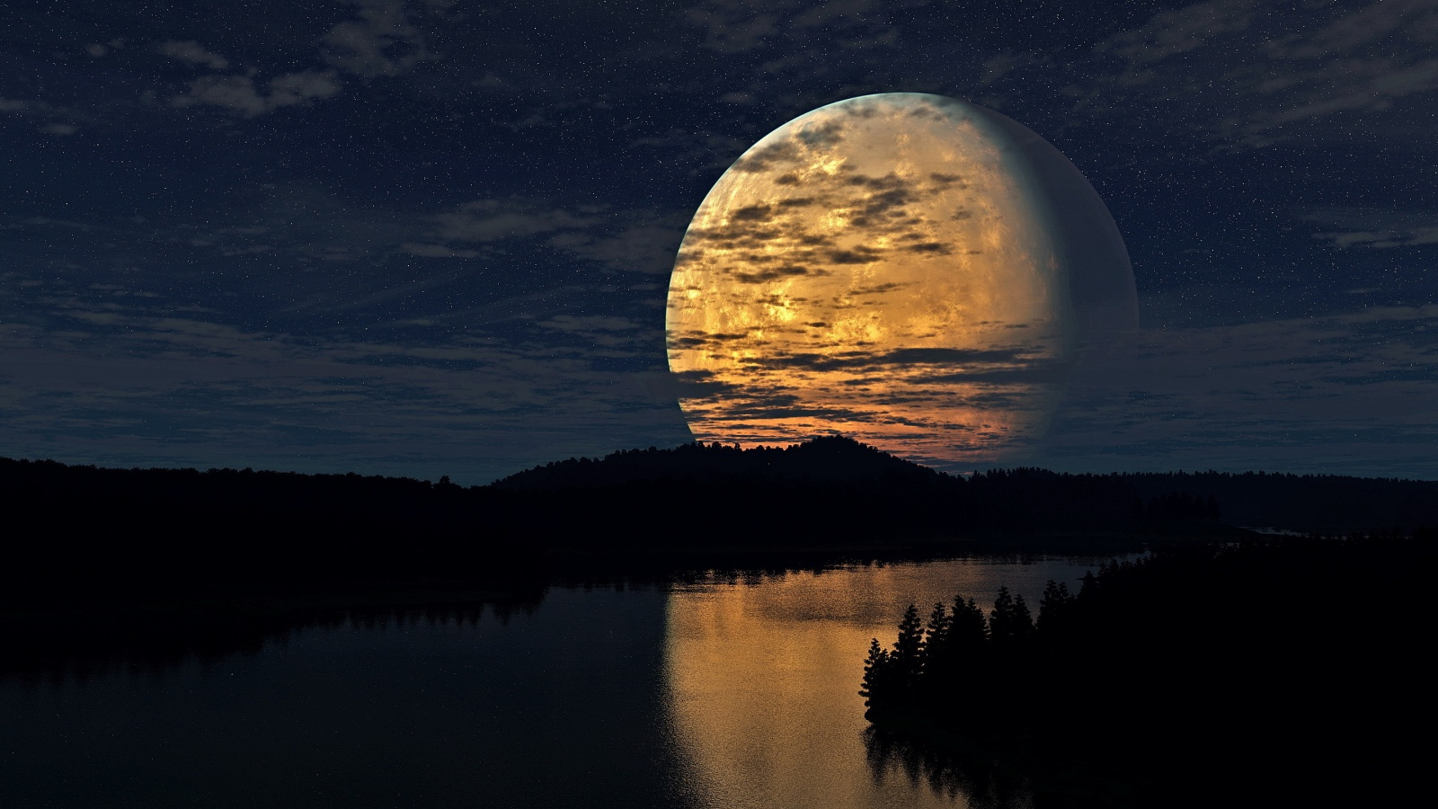 Beautiful Wallpapers: moon hd wallpaper