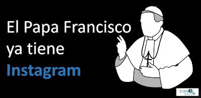 El pasado sábado 19 de marzo, coincidiendo con el tercer aniversario de su pontificado, el Papa Francisco entró oficialmente a Instagram, bajo el nombre de @Franciscus. Lo acompañó en la ceremonia el CEO de Instagram, Kevin Systrom, quien lo había visitado en febrero, para motivar al Vaticano a unirse a esta poderosa red social. Hasta ahora, la presencia en redes sociales del Papa se limitaba aTwitter, donde tiene una poderosa influencia, tuiteando simultáneamente en 9 idiomas, con @Pontifex como punta de lanza. El éxito de @Franciscus no se hizo esperar. En la primera hora superó los 100 mil seguidores y