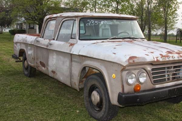 1965 Dodge D200 Crew Cab Auto Restorationice