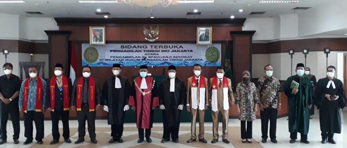Untuk Kali Kedua, Pengadilan Tinggi DKI Jakarta Ambil Sumpah  Organisasi Advokat PPIPHII