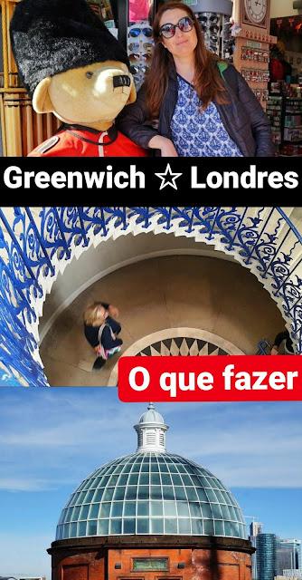 O que fazer em Greenwich, Londres