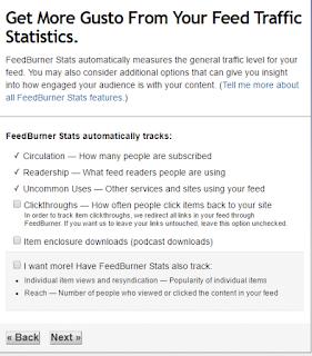 cara memasang feedburner di blog