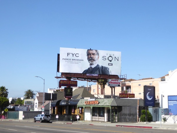 The Son 2017 Emmy FYC billboard