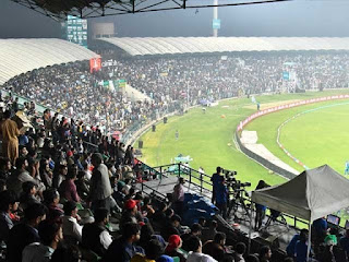Decision to hold PSL matches at Stadium in Karachi
