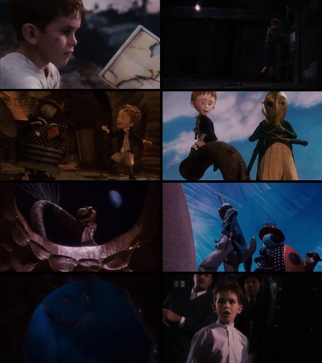 James And The Giant Peach 1996 Dual Audio Hindi 720p BluRay