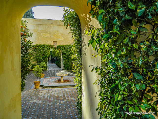 Jardins do Real Alcázar de Sevilha