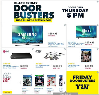 Best Buy USA black friday ad November 23 – 25, 2017