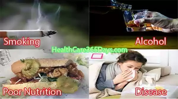 Causes-of-the-weak-Immune-System