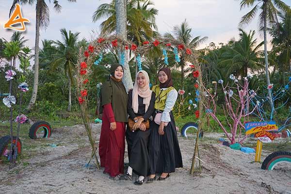 Pantai MJ Muara Indah Arung Parak Sambas