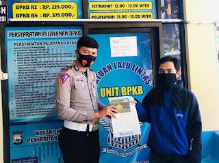 Pelayanan BPKB Polres Enrekang Terapkan Protokol Kesehatan