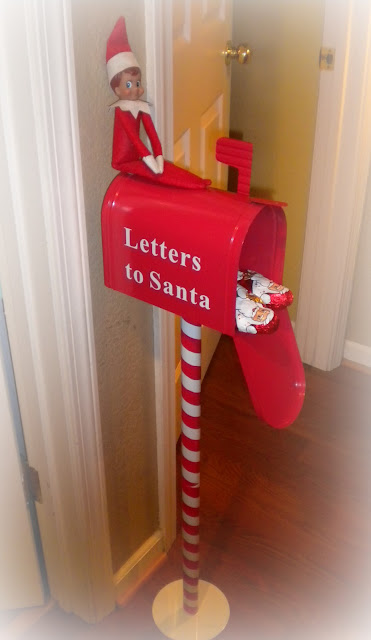 letters to santa mailboxes shabby brocante the adventures of topper our on a shelf 8238