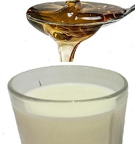 العسل و اللبن للتنحيف