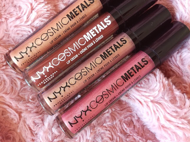 lipstick Collection Cosmic Metals par Nyx