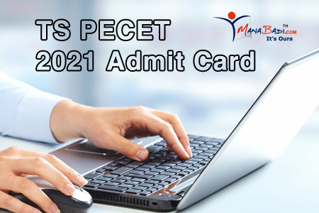 TS pecet admit card 2021