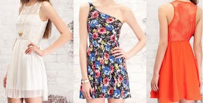 3 vestidos stradivarius