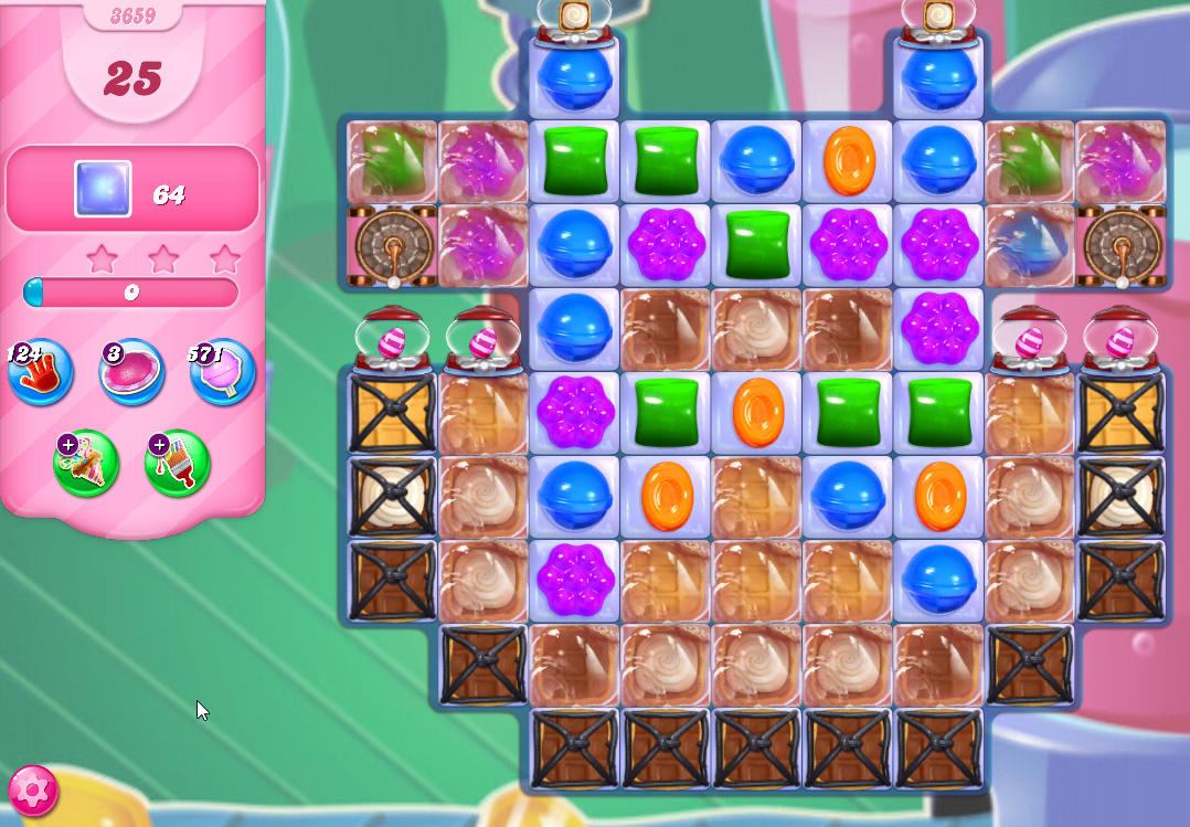 Candy Crush Saga level 3659