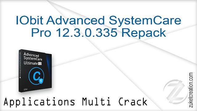 IObit Advanced SystemCare Pro 12.3.0.335 Repack