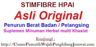 STIMFIBRE HPAI minuman kesehatan terbuat dari herbal alami