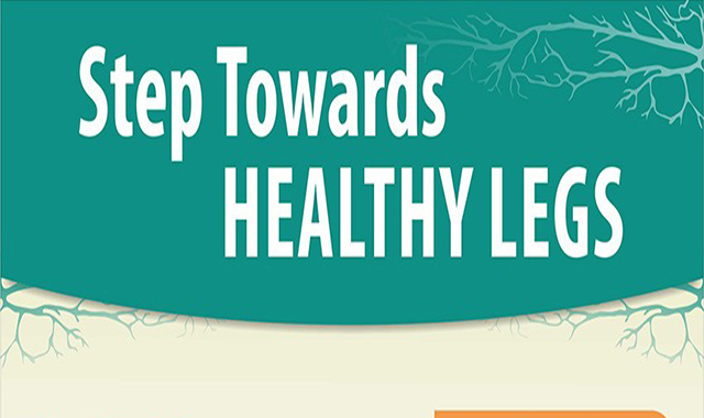 Step to Healthy Legs #infographic