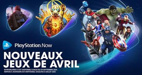 PS Now : Voici les nouveaux jeux d'avril 2021