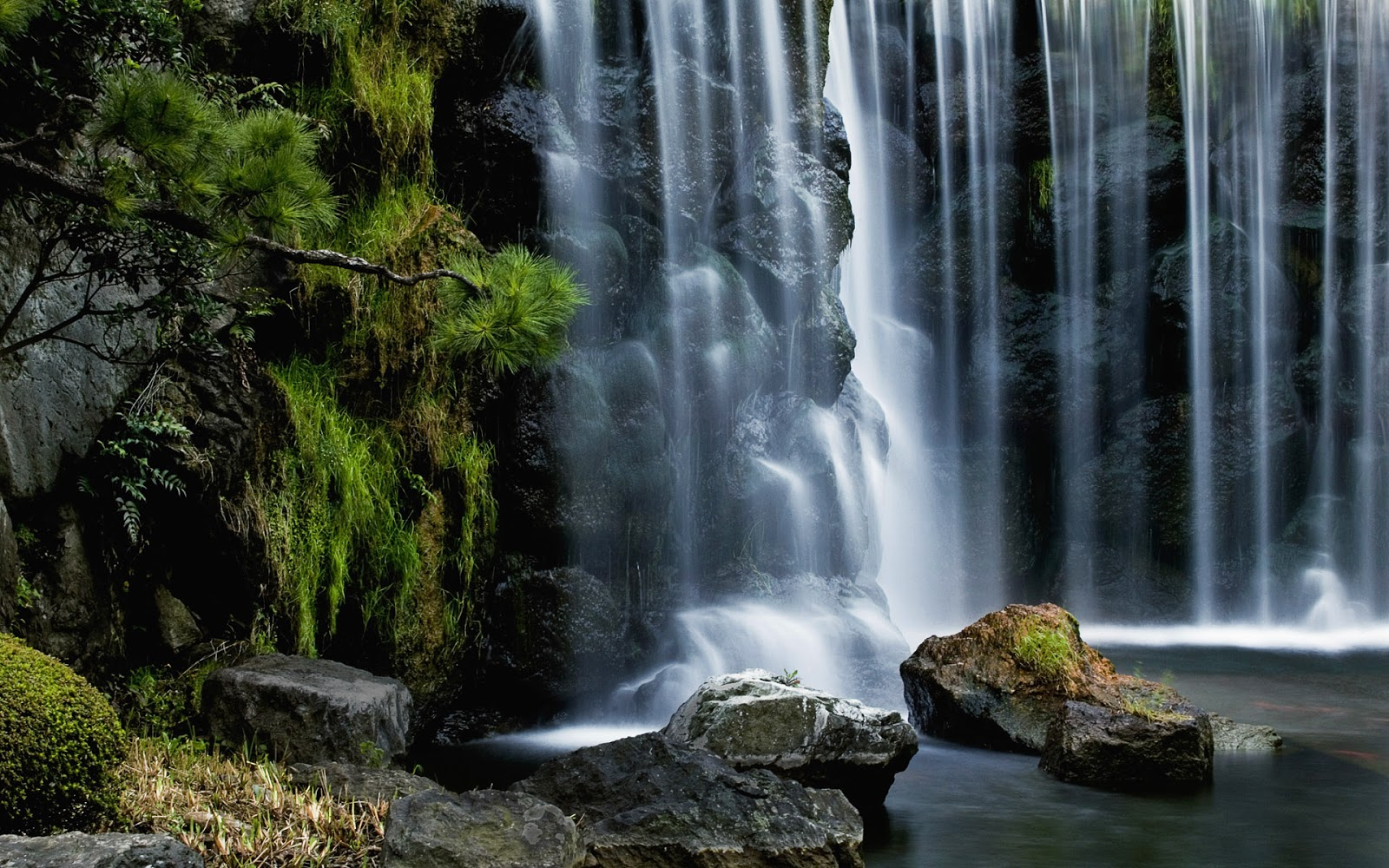 Waterfalls Background Wallpapers