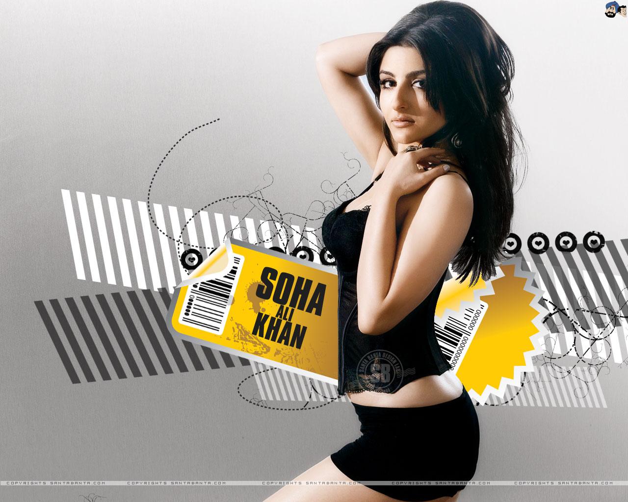 Soha Ali Khan HD Wallpapers