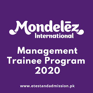 Mondelez Pakistan Management Trainee Program 2020