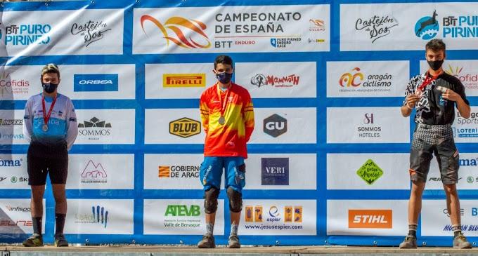 David Fernández logró el oro y Zoe del Río la plata en el Campeonato de España de Enduro