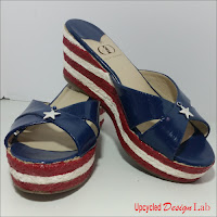 http://www.upcycleddesignlab.com/2016/07/upcycled-fourth-of-july-shoe-fun.html