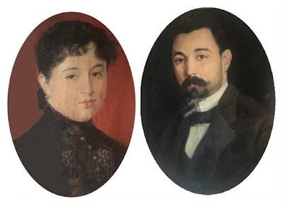 Los esposos, Guadalupe Garriga Tomàs y José María Baquero Vidal