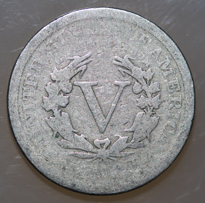 Reverse of 1905 Liberty Head Nickel