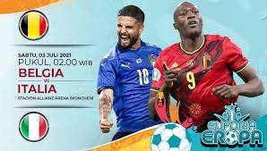 Link Live Streaming Euro 2020, Belgia Vs Italia