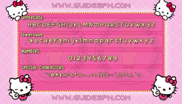 Mobile Font: Watermelon Font TTF, ITZ, and APK Format