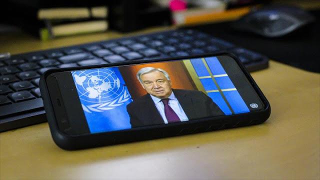 ONU: Toda la humanidad está amenazada por la pandemia de COVID-19