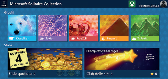 Microsoft Solitaire Collection app windows 10